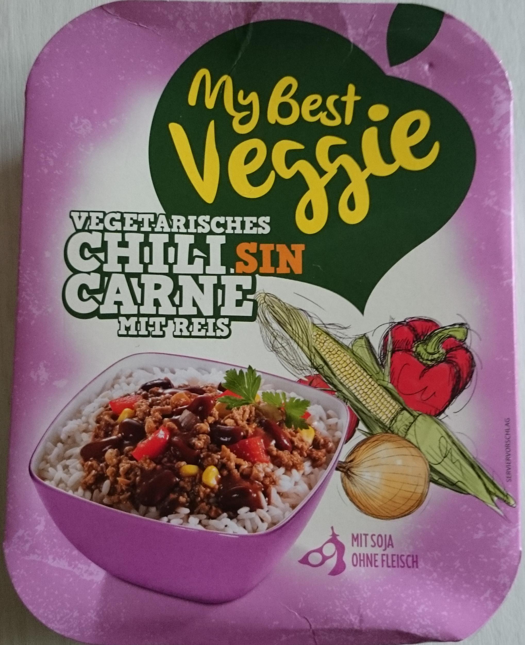 My Best Veggie Chili Sin Carne Fertiggericht Känguru Pandabär